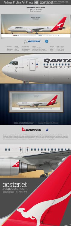 Official Qantas Airlines Airways Souvenir Sticker A380 BOEING AIRBUS SYDNEY