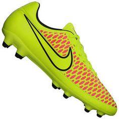 Chuteira de Campo Nike Magista Onda FG - Verde Cla/Rosa Desconto Centauro para Chuteira de Campo Nike Magista Onda FG - Verde Cla/Rosa por apenas R$ 179.90.