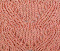 Узоры для вязания спицами. Вязание спицами узоры со схемами и описанием