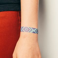 tattly Friendship Bracelet (Blue)