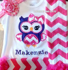 This listing is for an embroidered shirt/bodysuit and leg warmers. Sizes 6 M- 18 M will be an bodysuit and will come with a headband. Sizes