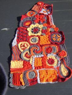 #freeform crochet