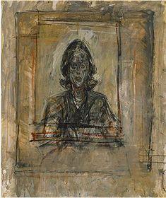 Alberto Giacometti, Portrait of a Woman, c. 1947
