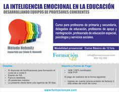 La inteligencia emocional en la Educación Curso presencial, método Nehmitz http://formacioncee.com/