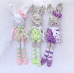 Ravelry: the HALLIE bunny pattern by RooShay Crochet