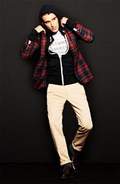 Gant Rugger Tartan Sportcoat Future boyfriend, take note of style! Sharp Dressed Man, Well Dressed Men, Plaid Blazer, Tartan Plaid, What To Wear Today, How To Wear, Swagg, Men Dress, Mens Fashion