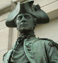 """John Paul Jones """"I have not yet begun to fight! John Paul Jones, Naval Academy, American Revolutionary War, Patron Saints, Ocean Life, Revolutionaries, Hero, Statue, Butterflies"""