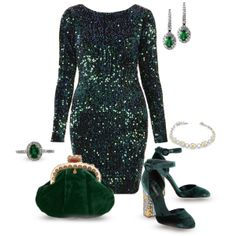 """the season to shimmer & shine"" by finksjewelers on Polyvore"