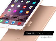¿Nuevo o recién reparado? Tráelo a nuestras tiendas #NaranjaCenter a repararlo y te costará diferenciarlo #iPad #reparariPad