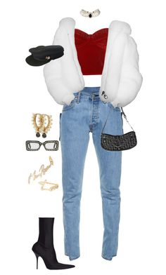 """""""Untitled #4353"""" by kimberlythestylist ❤ liked on Polyvore featuring Vetements, Christian Dior, Chanel, Balenciaga, Maria Tash, Gucci and Stephen Webster"""