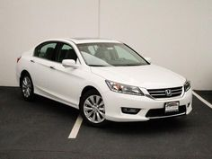 White Honda Accord 2014.. This is what my car is.. I love it!