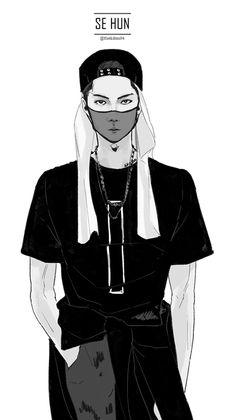 <Fanart> Sehun
