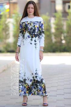 2e40dd1473cd0 wedding dresses Modest Maxi Dress, Maxi Dresses, Office Wear Dresses, Islam  Women,