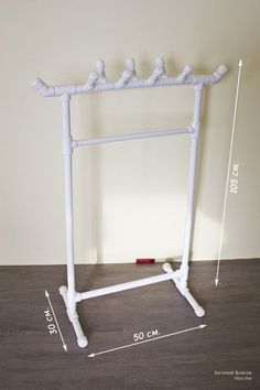 Picture of PVC rack for kids clothes