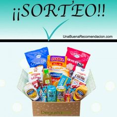 SORTEO CAJA DEGUSTABOX SORPRESA