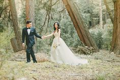 Dreamy Woodland Wedding   Kristen Booth Photography   Enchanting Mountain Bridal Portraits in a Fairy Tale Forest
