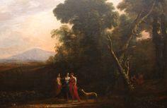 The Athenaeum - Roman Ideal Landscape with Cephalus, Procris, and Diana (Claude Lorrain - )