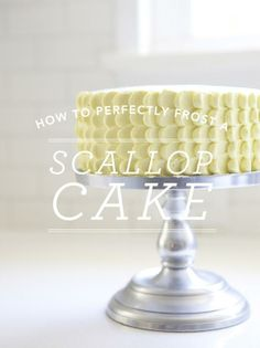 Scallop Cake / Oh Happy Day