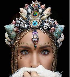 美得冒泡《貝殼王冠》設計製作的是一位懷抱美人魚夢的大美女~❤ - 圖片2