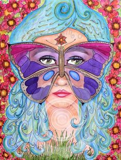Goddess of Transformation: $75.00 Let the Goddess of Transformation help you grow your wings and fly. She is the catalyst reflecting your emergence from the old into the new you.