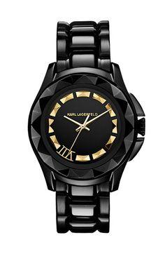 KARL LAGERFELD '7' Beveled Bezel Bracelet Watch, 36mm available at Nordstrom