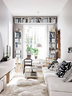 5 Homes That Show Off How To Live Large In A Small Space. Living Room Ideas  For Small SpacesInterior Design ...
