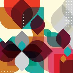 abstract geometrick paintings - AOL Image Search Results
