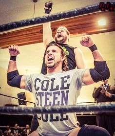 Adam Cole and Kevin Steen