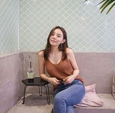 Korea Fashion, Asian Fashion, Girl Fashion, Fashion Outfits, Ulzzang Fashion, Ulzzang Girl, Sexy Asian Girls, Holiday Fashion, All About Fashion