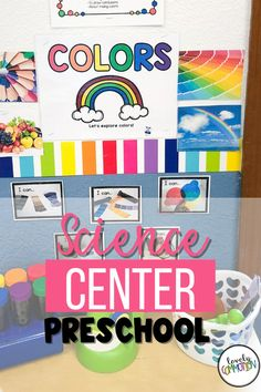 The Science Center in a preschool classroom is a place for children to discover and explore different scientific concepts.. See what is inside my Science Center.