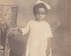 Adorable Little Girl-Antique Photograph by ThatVintagePhotoShop