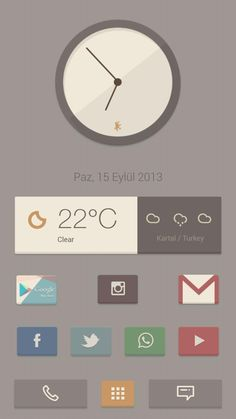 [Homepack Buzz] Check this awesome homescreen! Sencer Bugrahan | My Homepack Pure Theme