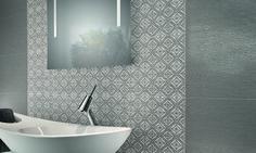 Montserrat - kuviolaatta St- John's grey John Gray, Sink, Bathtub, St John's, Bathroom, Grey, Home Decor, Mosaics, Sink Tops