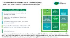Hosting and Managed Service Provider: ERP Cloud Services deliver 5 vital business benefits
