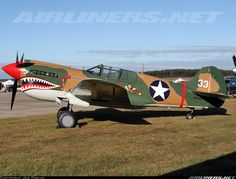 Curtiss P-40K Warhawk
