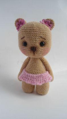 Мишутка - Мои вязульки - Галерея - Форум почитателей амигуруми (вязаной игрушки)
