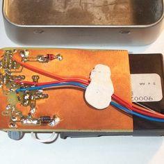 Switch Mode Altoids Tin  iPOD Charger using 3 'AA' batteries TUTORIAL DIY