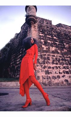 Pat Cleveland in San Juan, Puerto Rico, 1972