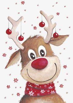 Christmas Deer, Christmas Clipart, Christmas Pictures, Winter Christmas, Christmas Wreaths, Christmas Crafts, Merry Christmas, Christmas Decorations, Christmas Time