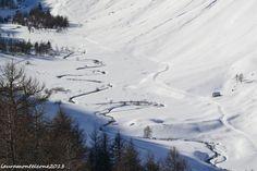Vallone Du Lauzanier, visto dal Colle della Maddalena