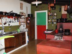 chácara / sítio Campinas  - cozinha externa com fogão a Lenha