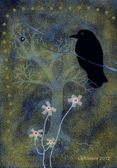 Night Watch #iphoneart #digitalart #digitalcollage #appart #ravens #art