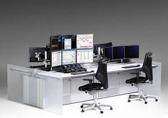 Nice! A trading desks!