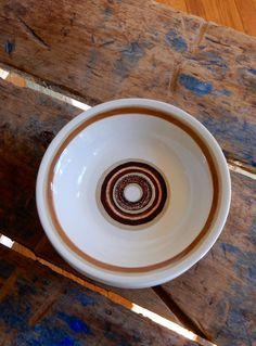 6 Stoneware Soup Cereal Bowls Set Royal China by TooArtfulForYou