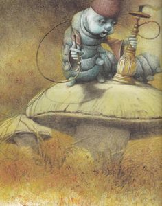 Alice in Wonderland illustrated by Robert Ingpen