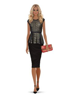 Styled with: Zimmermann, Three Dots, Rachel Zoe, Cashhimi, Ashley Pittman, Karen London   Create your own look with Covet Fashion