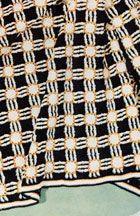 Honeycomb Afghan - so striking!