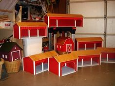 Lots of Toy Barns!!