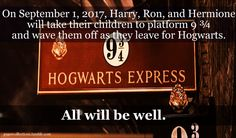The year me and my friends plan on going to Universal Studios in Orlando and visit The Wizarding World of Harry Potter :) clever idea