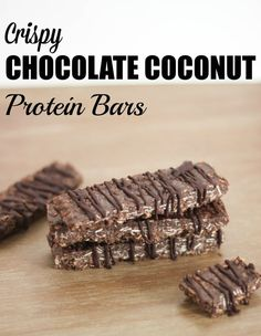Pin for Later: Chocolate Coconut Protein Bars That Seriously Taste Like a Candy Bar